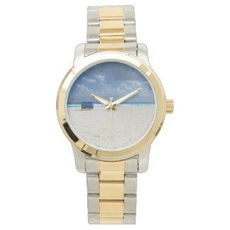 ビーチチェアは待ちます 腕時計