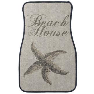 ビーチハウスのヒトデのサンディの沿岸装飾 カーマット