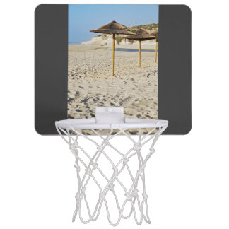 ビーチパラソル ミニバスケットボールゴール