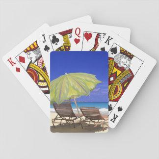 ビーチパラソル、Abaco、バハマ トランプ