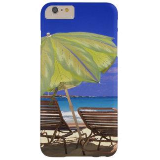ビーチパラソル、Abaco、バハマ Barely There iPhone 6 Plus ケース
