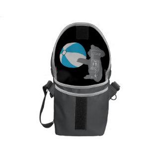 ビーチボールのコアラの小型メッセンジャーバッグの内部のプリント メッセンジャーバッグ