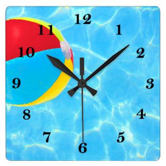ビーチボール 壁時計