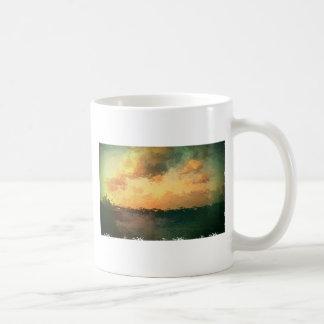 ビーチ場面 コーヒーマグカップ