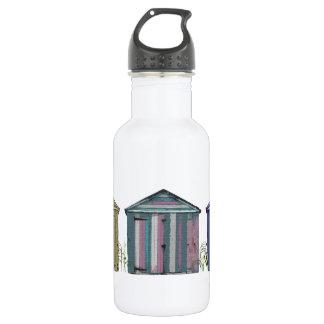 ビーチ小屋の芸術 ウォーターボトル