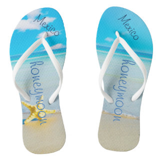 ビーチ結婚式|のビーチサンダル|の花嫁の名前|の海 ビーチサンダル