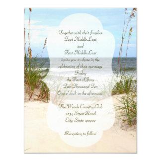 ビーチ結婚式 カード