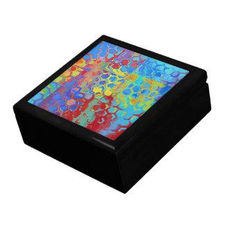 ビーチ色の抽象芸術 ギフトボックス