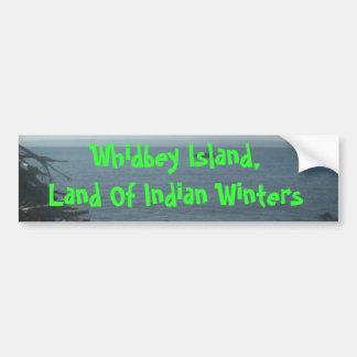 ビーチ06、Whidbeyの島、インドの勝利の土地… バンパーステッカー