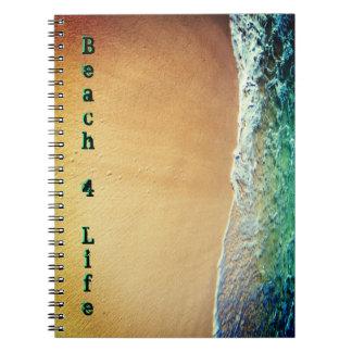 ビーチ4の生命 ノートブック
