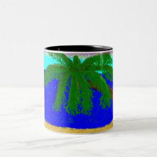 ビーチ ツートーンマグカップ