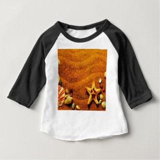 ビーチ ベビーTシャツ