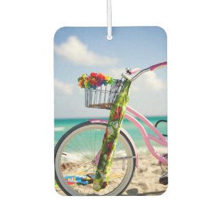 ビーチ|マイアミ、フロリダの自転車 カーエアーフレッシュナー
