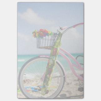 ビーチ マイアミ、フロリダの自転車 ポストイット
