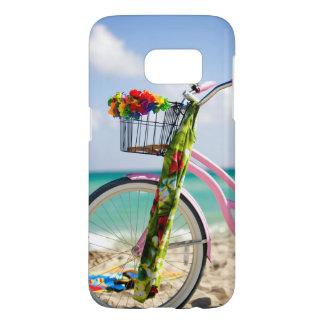 ビーチ|マイアミ、フロリダの自転車 SAMSUNG GALAXY S7 ケース