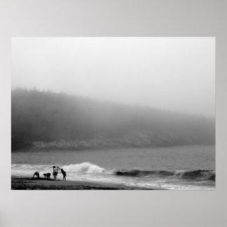 ビーチ-メインの日 ポスター