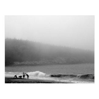 ビーチ-メインの日 ポストカード
