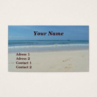ビーチ-名刺 名刺