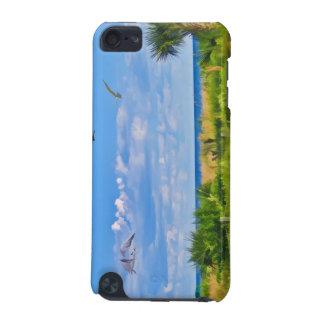 ビーチ、海岸および鳥 iPod TOUCH 5G ケース
