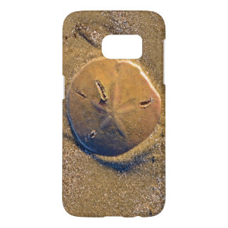 ビーチ| Hilton Head Islandで明らかにされる砂ドル Samsung Galaxy S7 ケース
