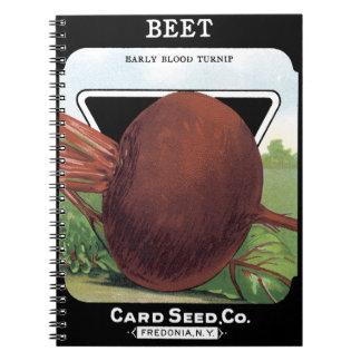 ビートカード種Co.の包みFredoniaのNYのヴィンテージ ノートブック