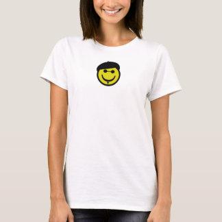 ビート族のスマイリー Tシャツ