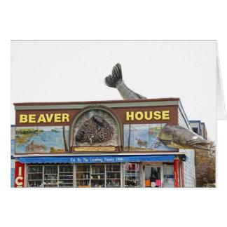 ビーバーの家 カード