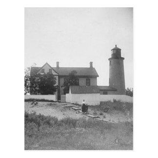 ビーバーの島の頭部の灯台 ポストカード