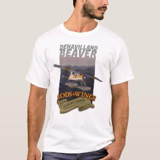 ビーバーの棒の翼1 Tシャツ
