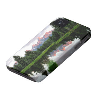 ビーバーの池上のTetonの壮大な反射 Case-Mate iPhone 4 ケース