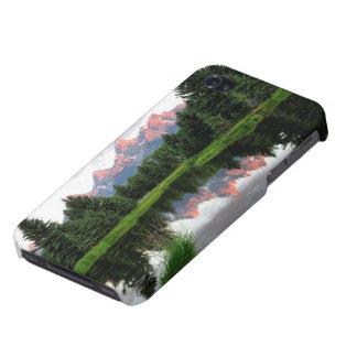 ビーバーの池上のTetonの壮大な反射 iPhone 4/4S Case