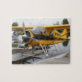 ビーバーの浮遊物の飛行機のジグソーパズル ジグソーパズル