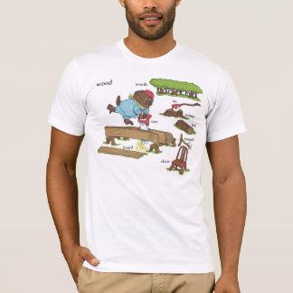 ビーバー第1ファンを欠きます Tシャツ