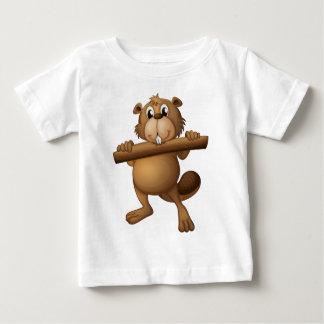 ビーバー ベビーTシャツ