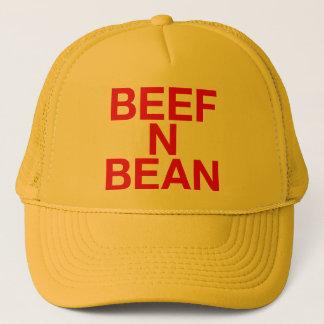 ビーフNの豆のおもしろいのスローガンのトラック運転手の帽子 キャップ