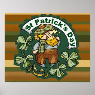 ビールおよびアイルランド人 ポスター