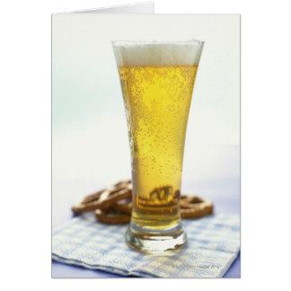 ビールおよびプレッツェル カード