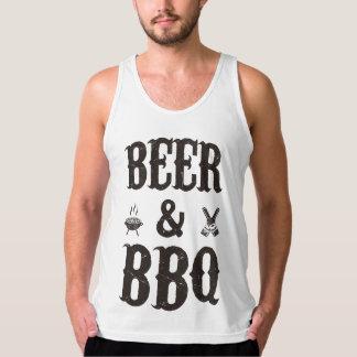 ビールおよびBBQ タンクトップ