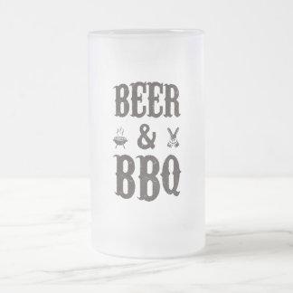 ビールおよびBBQ フロストグラスビールジョッキ