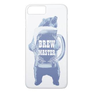 ビールくまの家の醸造Brewmaster iPhone 8 Plus/7 Plusケース