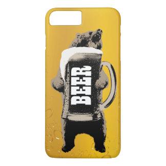 ビールくま iPhone 8 PLUS/7 PLUSケース