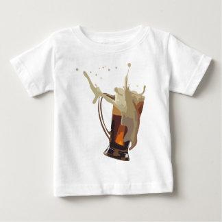 ビールとの冷え ベビーTシャツ