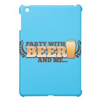 ビールとパーティを楽しめば私はアルコールビール設計します iPad MINIケース