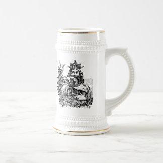 ビールによって刻まれるステインの王 ビールジョッキ