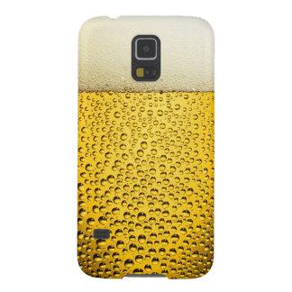ビールのおもしろいで涼しいガラス GALAXY S5 ケース