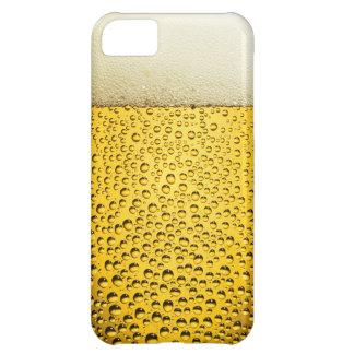 ビールのおもしろいで涼しいガラス iPhone5Cケース