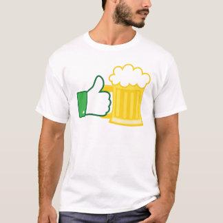 ビールのように Tシャツ