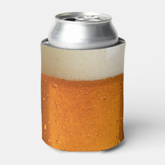 ビールのガラス 缶クーラー