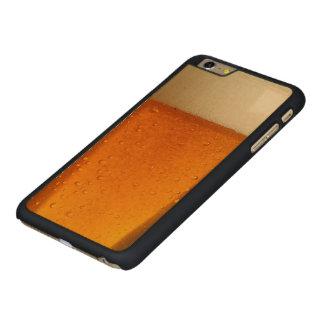 ビールのガラス CarvedメープルiPhone 6 PLUS スリムケース