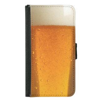 ビールのガラス GALAXY S5 ウォレットケース